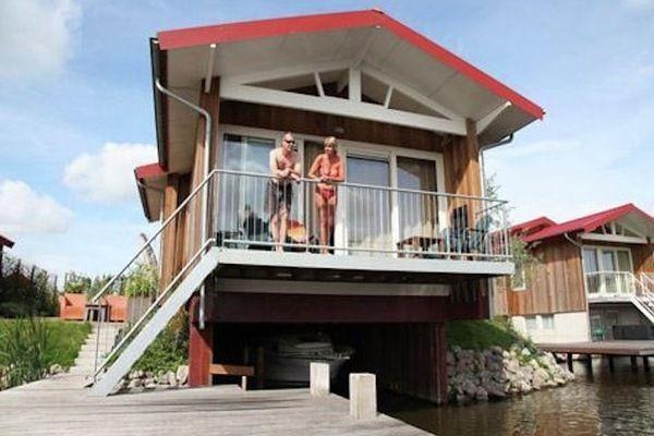 Waterpark Zwartkruis Noardburgum Friesland Netherlands