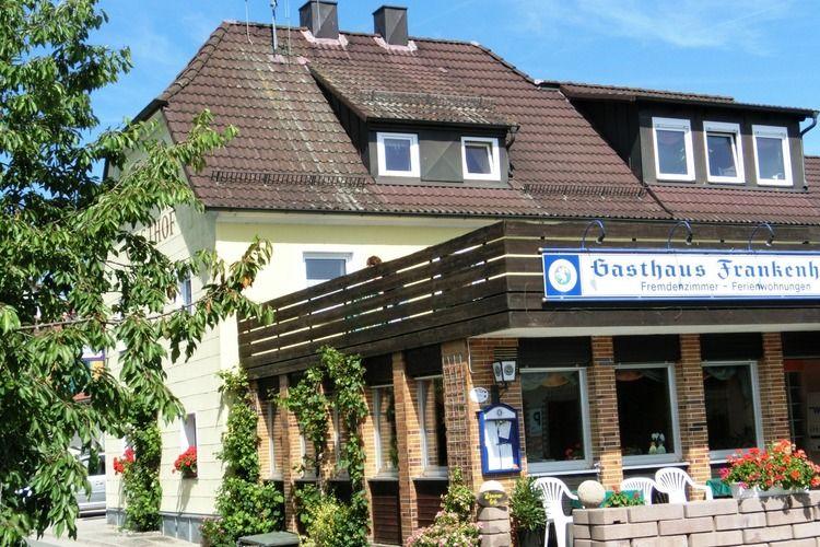 Gasthaus Frankenhohe Gossweinstein Bavaria Germany
