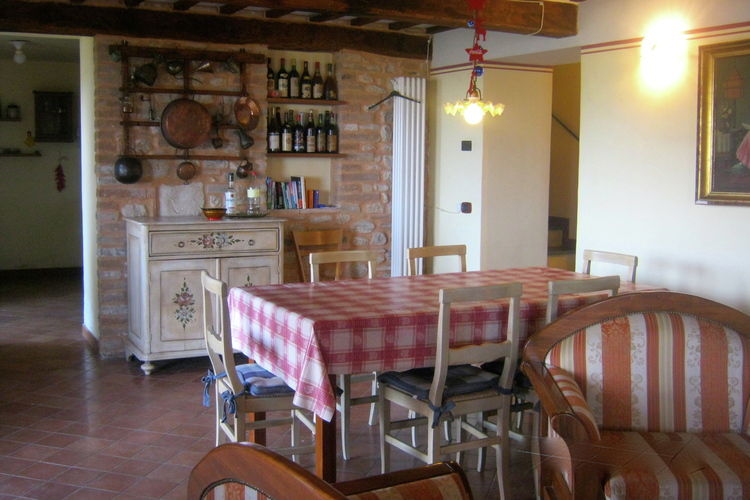 Movisarno - Chalet - Sarnano - Dining Room