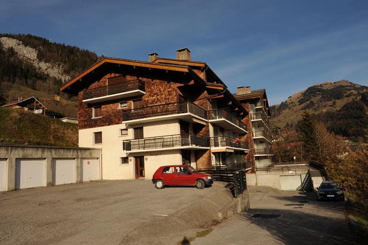 Le Grand Bornand Village Massif des Aravis Northern Alps France