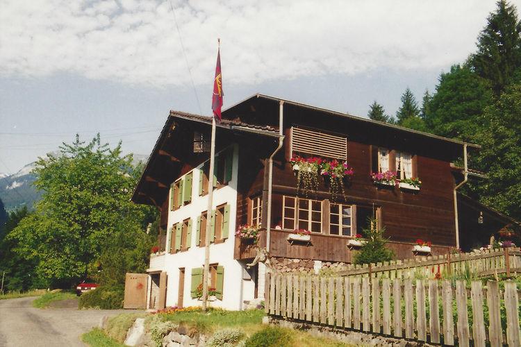 Haus Baumgarten Gundlischwand Bernese Oberland Switzerland