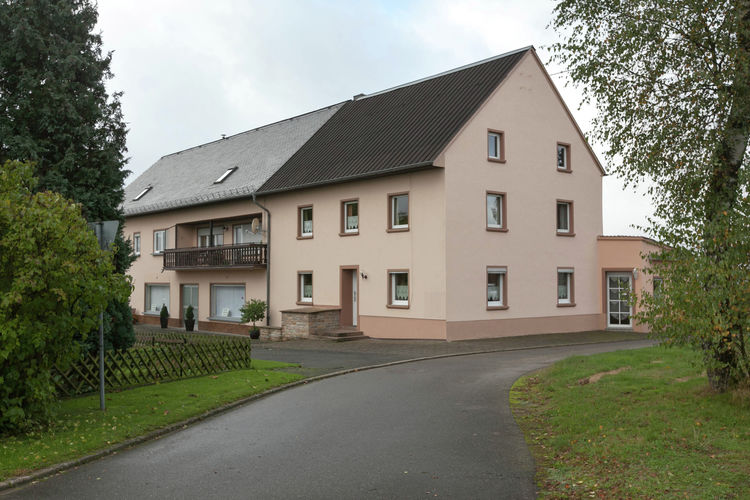 Blick zu Luxemburg Rodershausen Eifel Germany