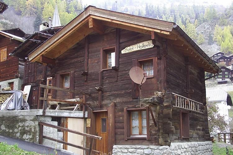 Holleri Aletscharea Valais Switzerland