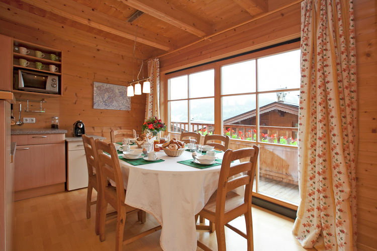 Sonnberg - Apartment - Brixen im Thale - Dining Room