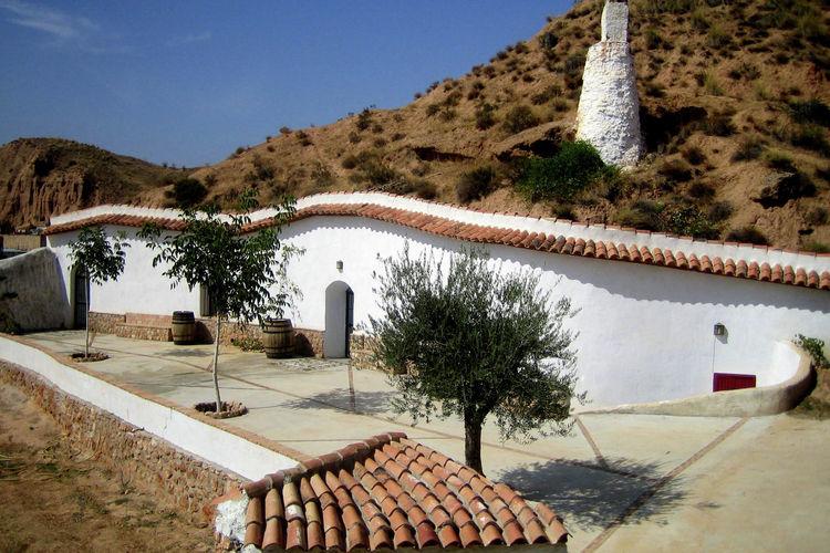 Casa Cueva Lopera Sierra Nevada Andalusia Inland Spain