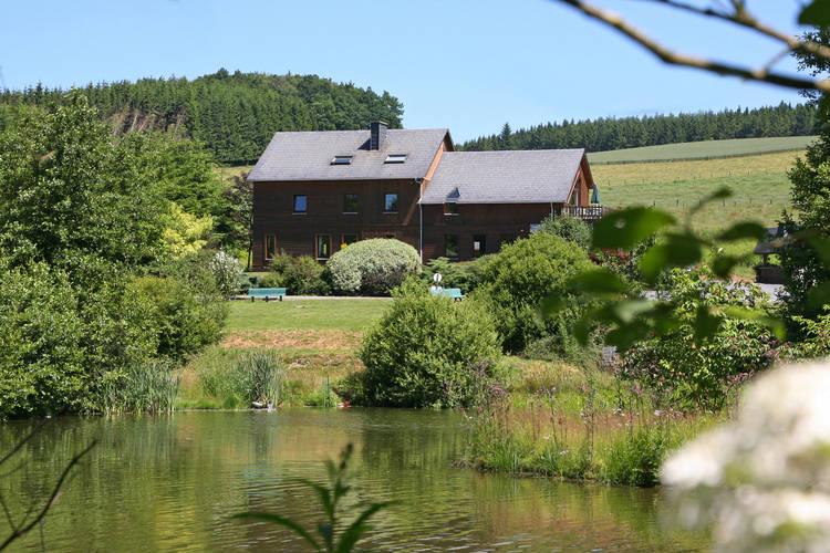 Le Gite du Lac Hompre vaux-sur-sure Luxembourg Belgium