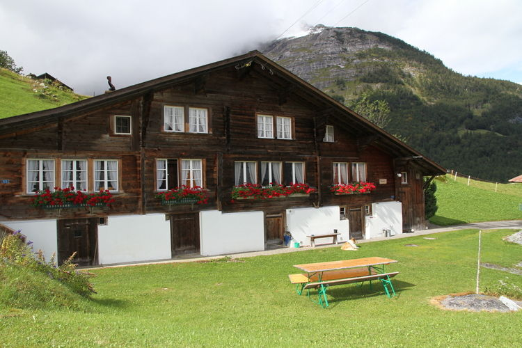 Haus Grube Innertkirchen Bernese Oberland Switzerland