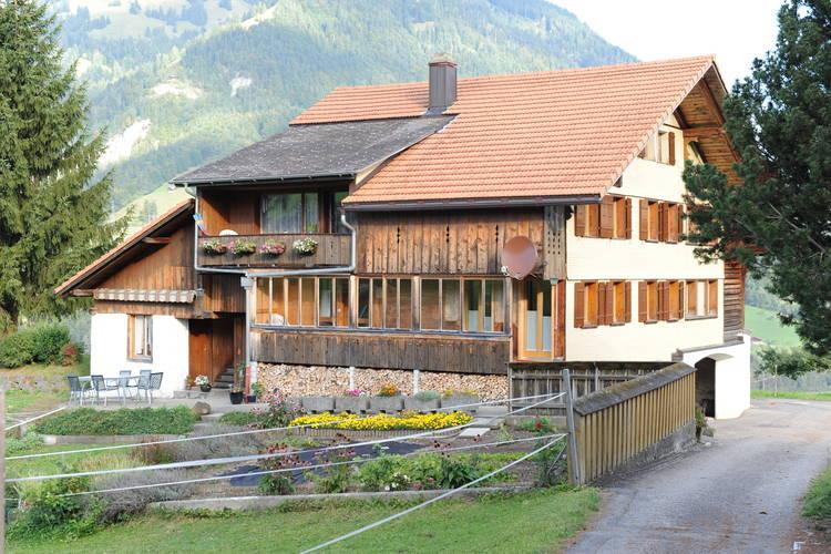 Haus Luscher Scharnachtal Bernese Oberland Switzerland