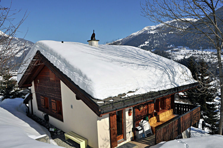 Coq d'Or - Chalet - Fiesch - Exterior - Winter