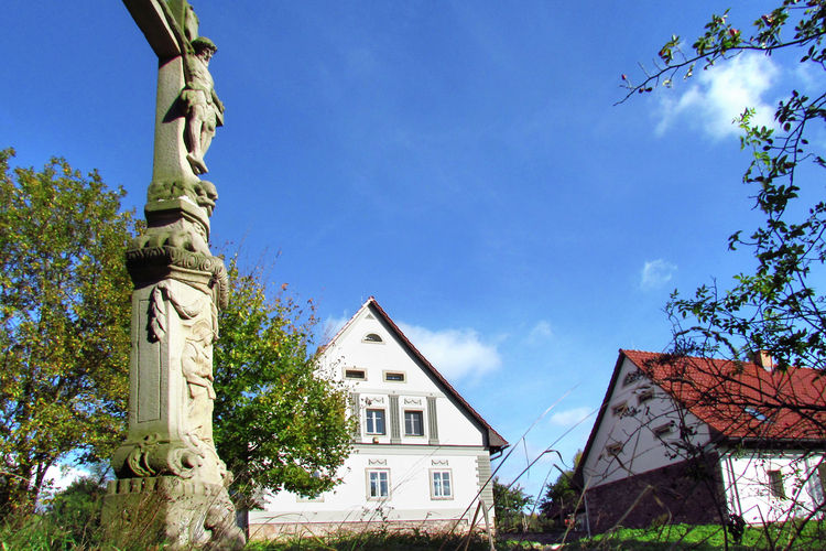 Monumental Landmark Broumova North Bohemia Czech Republic