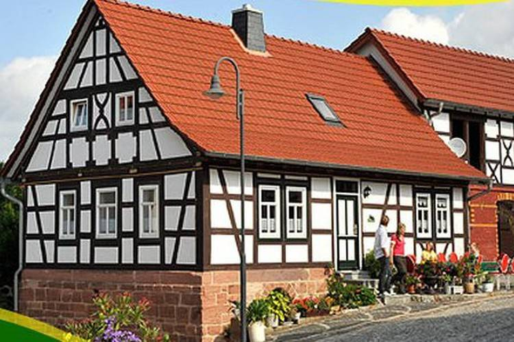 Bauernhauschen Bernshausen Thuringia Germany