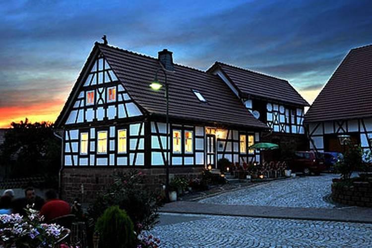 Rhon Paradis Bernshausen Thuringia Germany