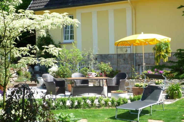 Villa Rosenhof Wintergarten Bad Pyrmont Weser Uplands Germany