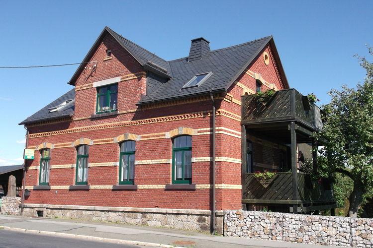 Im Vogtland Grunbach Saxony Germany
