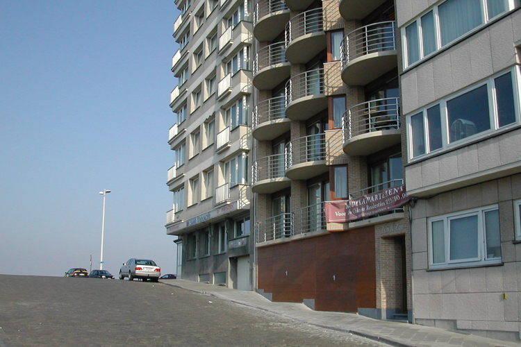 Zon Zee Ostend West Flanders Belgium
