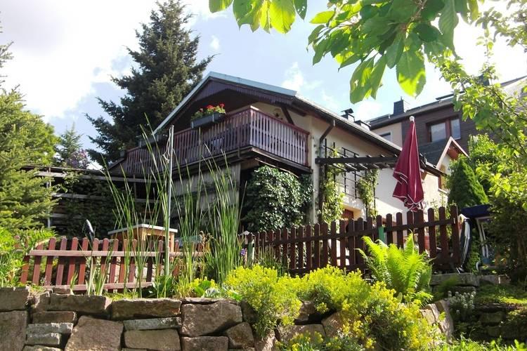 Ferienhaus im Grunen Oberwiesenthal Bernsbach Saxony Germany