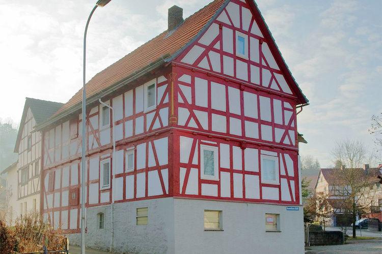 Historische vakwerkboerderij Frankenberg (Eder) Sauerland Germany