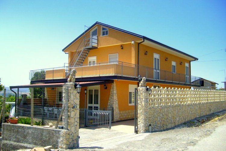 Villa Russo Lentini Sicily Italy